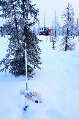 RT2 in snow in Siberia.